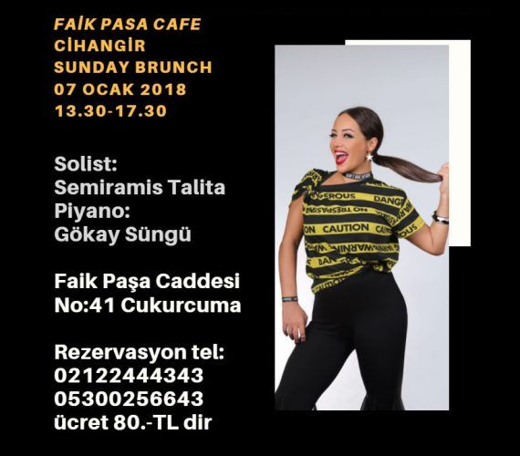 Sunday Event at Cihangir Faik Paşa Café