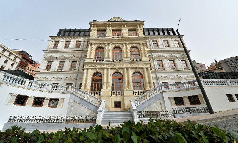 Beyoglu Belediyesi'nin Tarihçesi-Tarihi Binası ve Restorasyonu