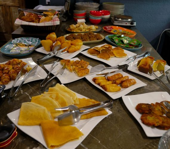 Breakfast in the Faik Pasha Hotels Istanbul